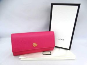 cheap for discount 7d317 d3a68 GUCCI ファスナー付長財布 456116 CA00G 5752 お買い取りしま ...
