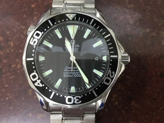 new concept 09aea 230fe かんてい局鹿沼店】オメガの時計(シーマスター)をお買取いたし ...